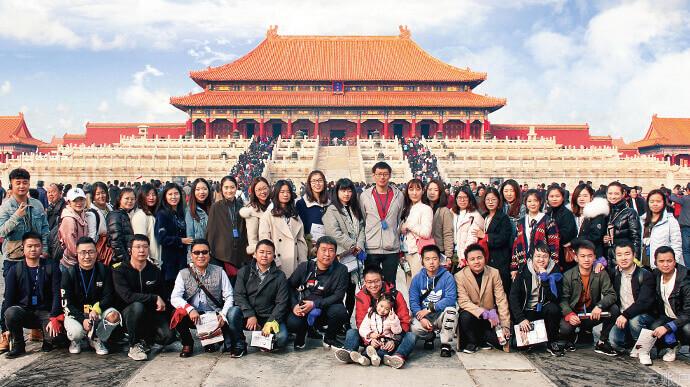 2018年11月,云账户商务部、运营部、法务部、市场部组织跨部门团建,参观故宫博物院,感受中华历史文化。