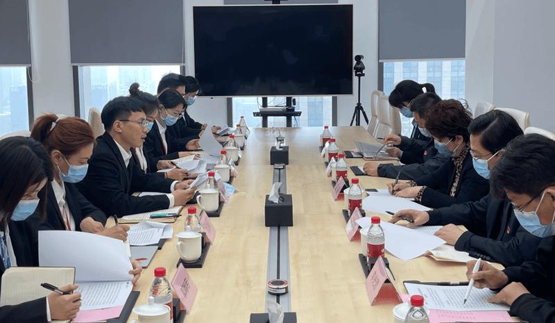 天津市委宣传部副部长、市委网信办主任王芸调研云账户 11