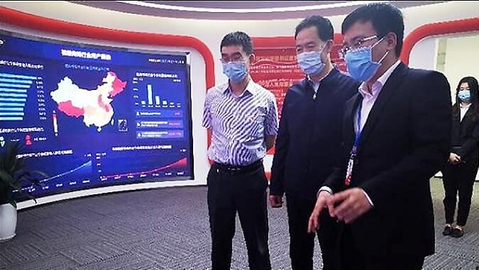 天津市合作交流办党组书记、主任张庆恩调研云账户