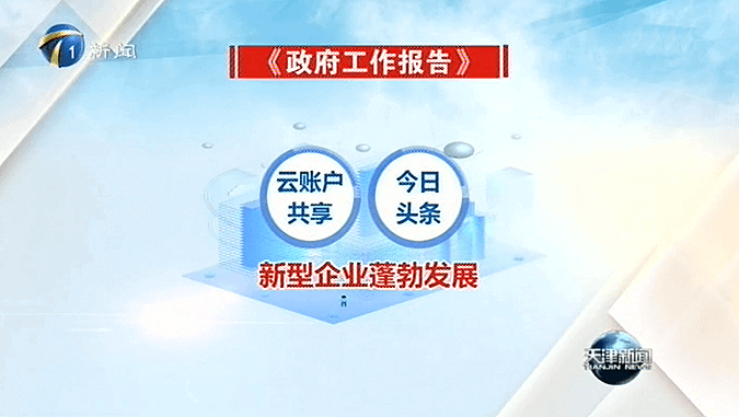 云账户董事长参加2020年天津两会并发言